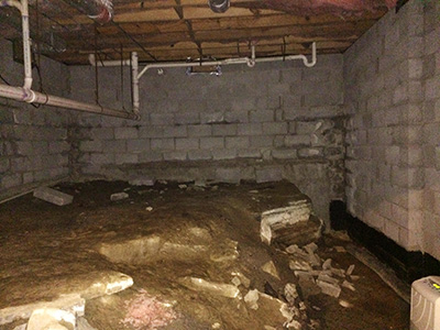 Before - Crawl Space